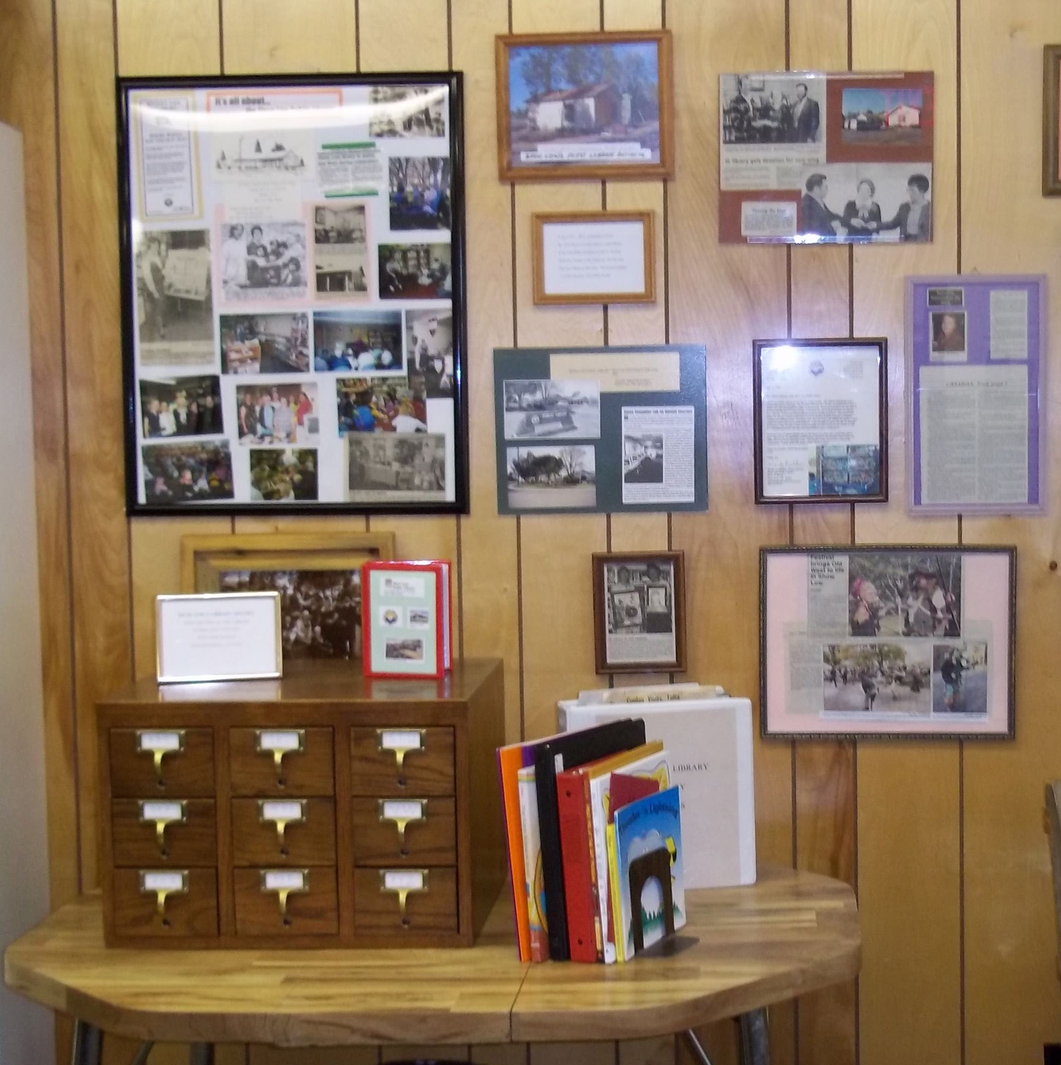 Library History Display